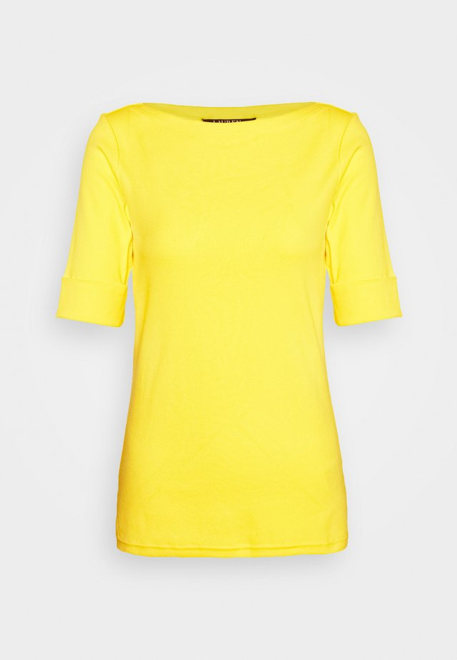 Basic T-shirt - hampton yellow