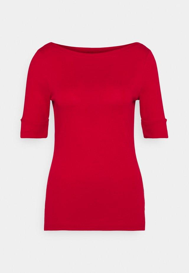 Långärmad tröja - orient red