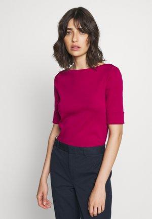 T-shirt basic - bright fuchsia
