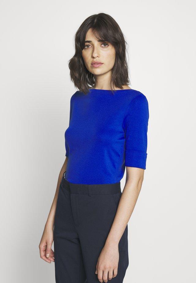 T-shirt - bas - blue glacier