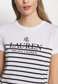 Lauren Ralph Lauren - MICRO - Triko spotiskem - white - 5