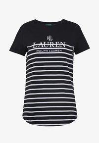 Lauren Ralph Lauren - MICRO - Triko spotiskem - black - 3