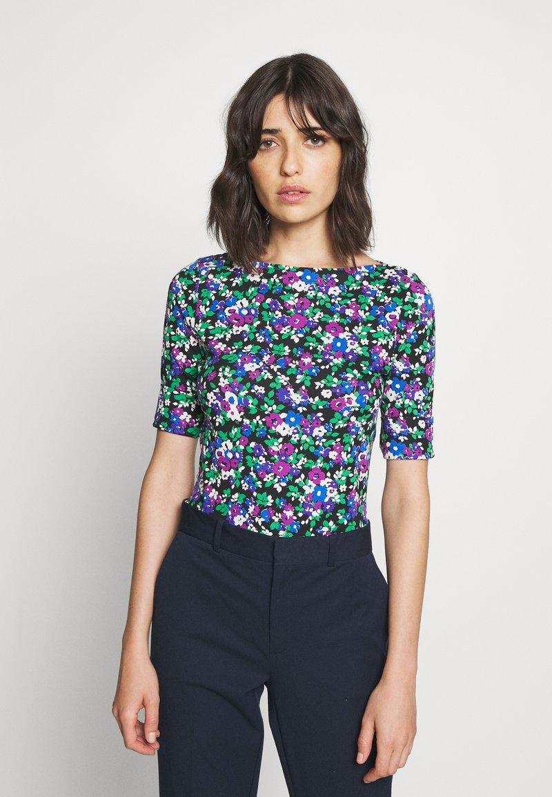 Lauren Ralph Lauren - T-shirts med print - black/multi