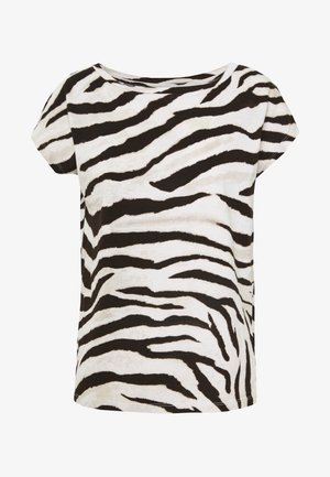 UPTOWN  - T-shirt print - dark brown multi