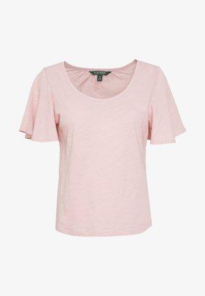 Jednoduché triko - pink