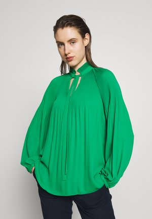 DRAPEY POLY - Blouse - hedge green
