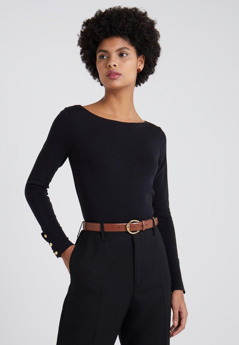 Lauren Ralph Lauren - Long sleeved top - black