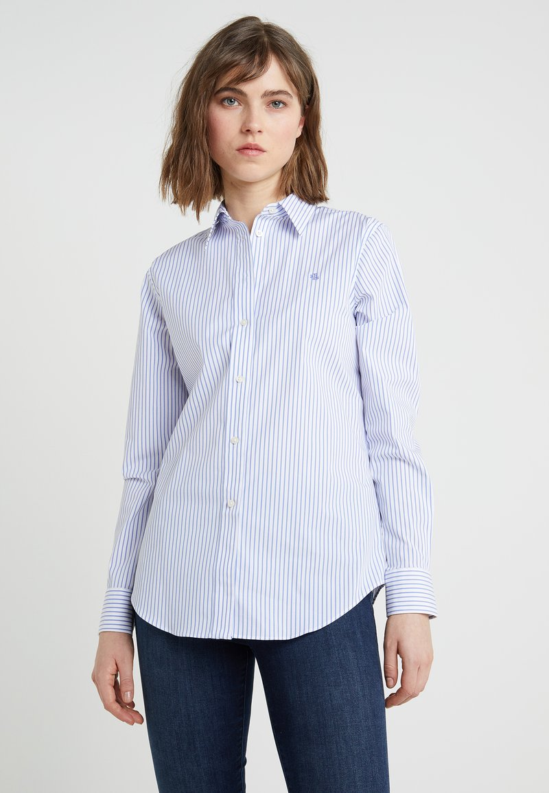 Lauren Ralph Lauren - JAMELKO LONG SLEEVE - Camicia - blue/white
