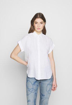 TISSUE - Button-down blouse - white