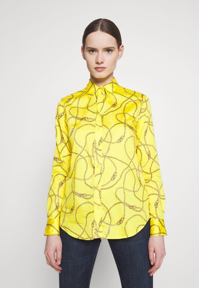 SATEEN SHIRT - Button-down blouse - dandelion fields