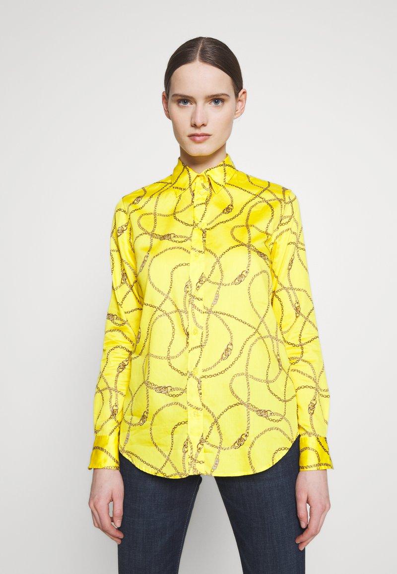 Lauren Ralph Lauren - SATEEN SHIRT - Košile - dandelion fields