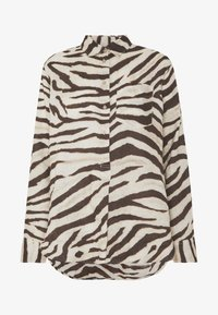 Lauren Ralph Lauren - Button-down blouse - brown/multi - 4