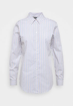 NON IRON SHIRT - Košile - white/blue