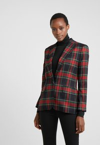 Lauren Ralph Lauren - NOVEL SUITING-JACKET - Sportovní sako - polo black/red - 0