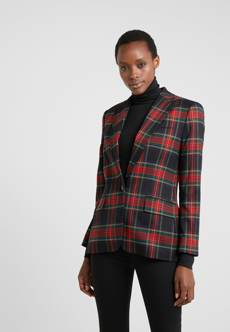Lauren Ralph Lauren - NOVEL SUITING-JACKET - Sportovní sako - polo black/red