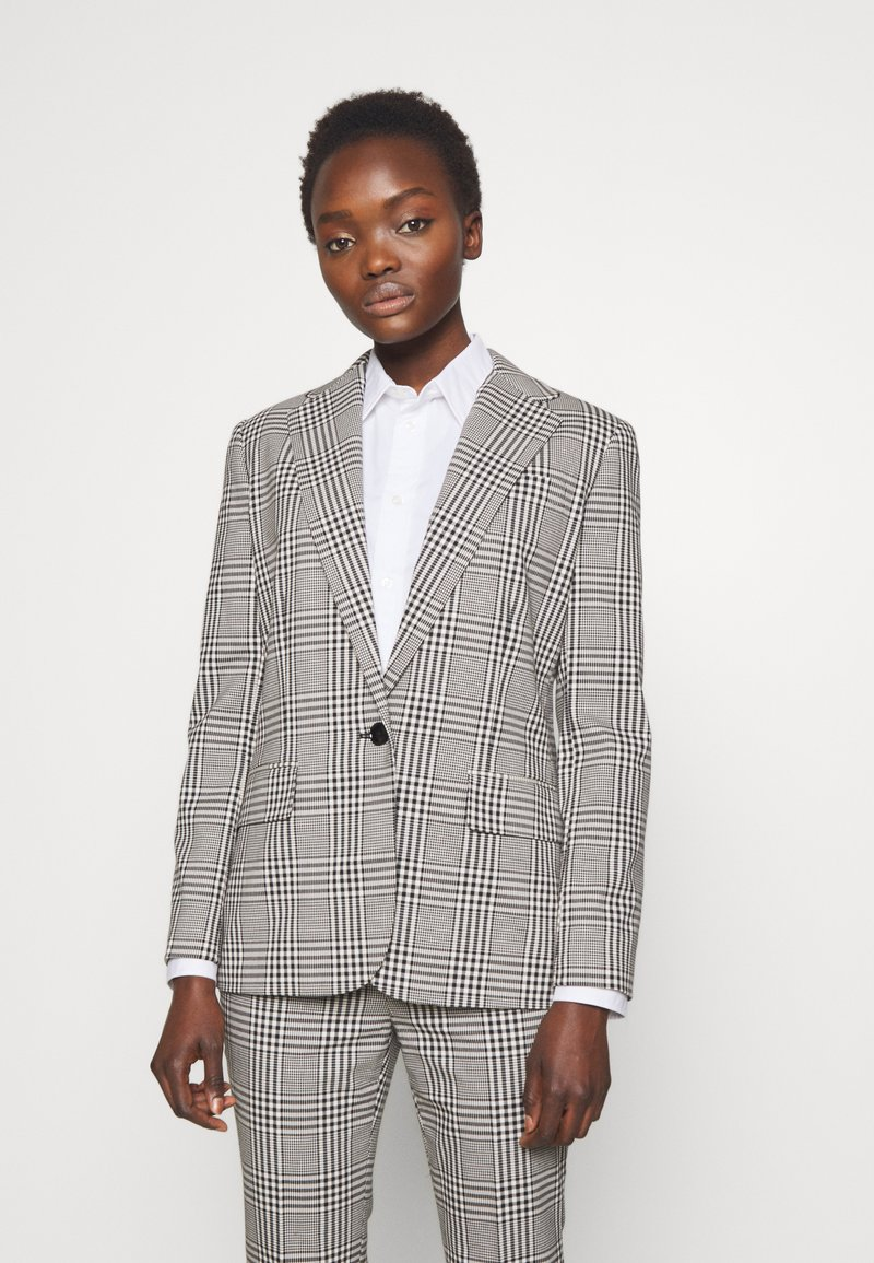 Lauren Ralph Lauren - SUITING JACKET - Blazer - black/white