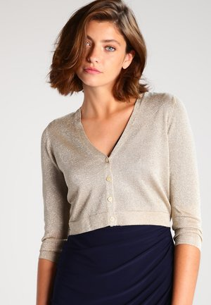 Cardigan - light gold/gold