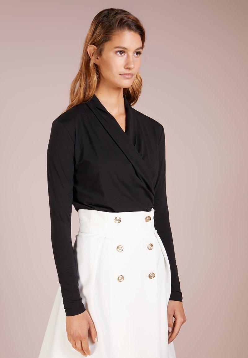 Lauren Ralph Lauren - Maglietta a manica lunga - polo black