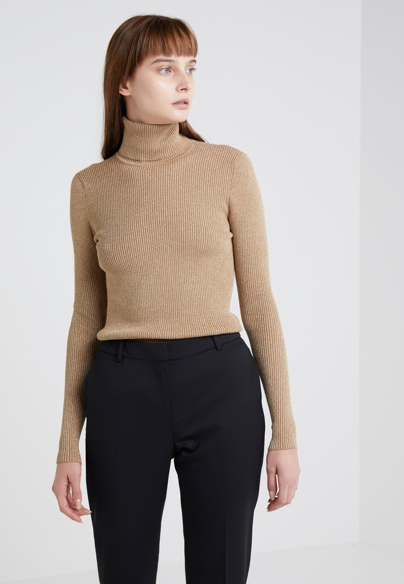 Lauren Ralph Lauren - TURTLENECK - Strickpullover - gold