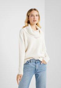 Lauren Ralph Lauren - SUPER SOFT - Pullover - mascarpone cream - 0