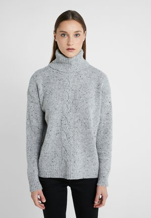 CROFTER DONEGAL - Strickpullover - pearl grey heathe