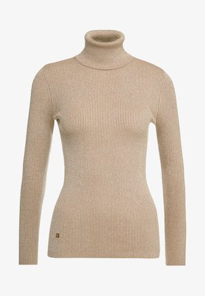 TURTLE NECK - Jersey de punto - gold