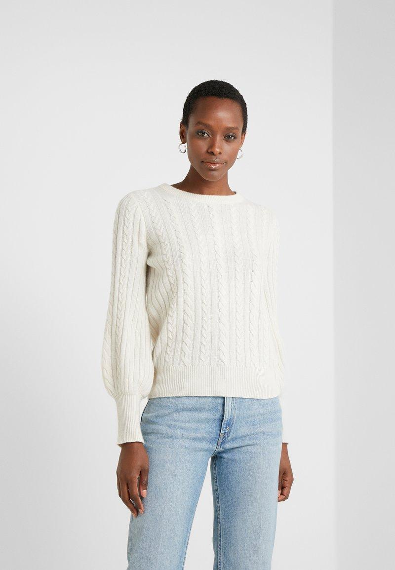 Lauren Ralph Lauren - Sweter - mascarpone cream