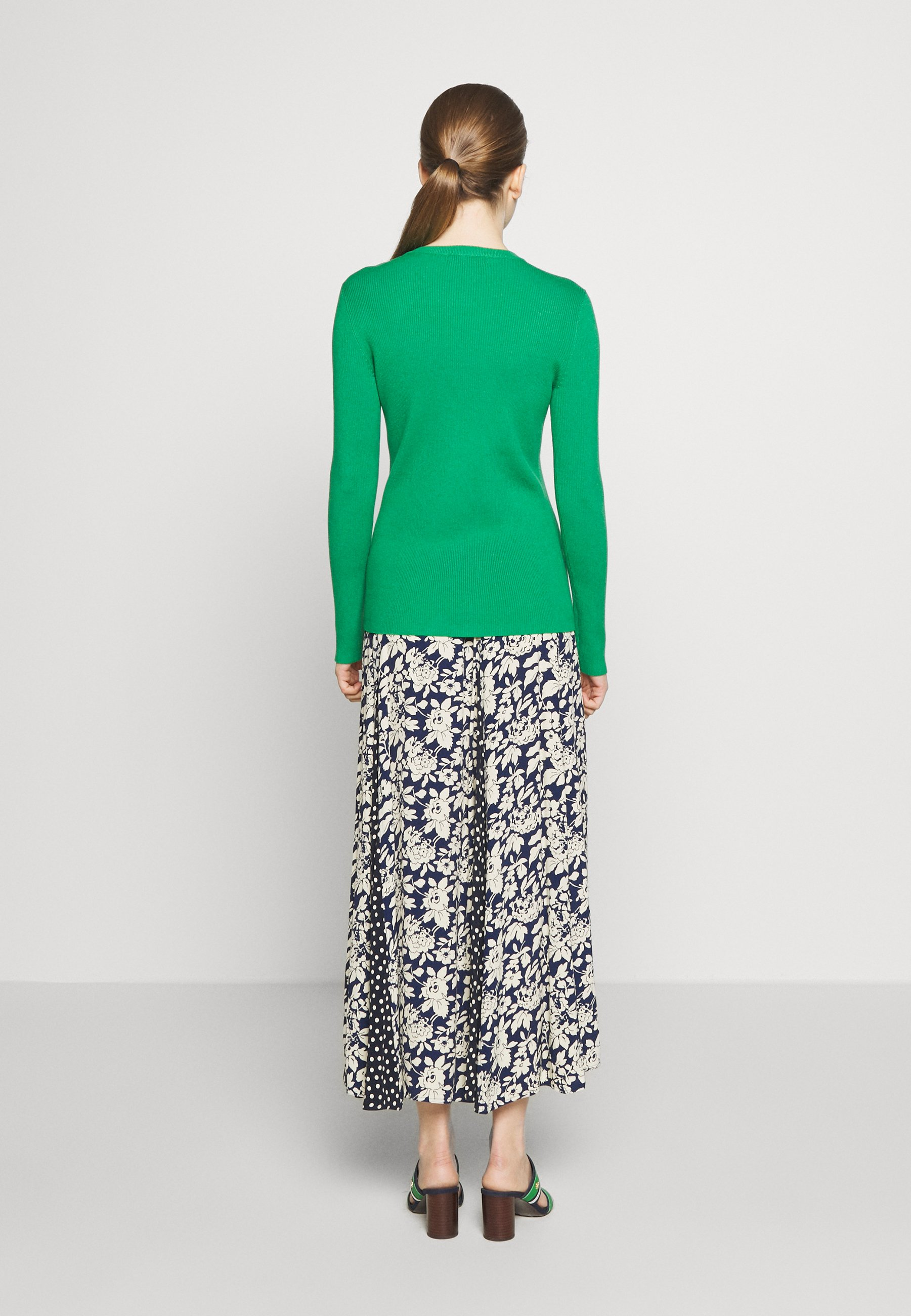 Lauren Ralph Lauren Strikkegenser - hedge green