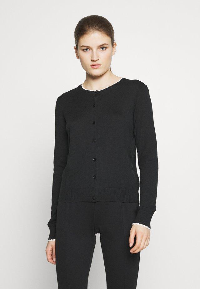 Jersey de punto - black/off-white