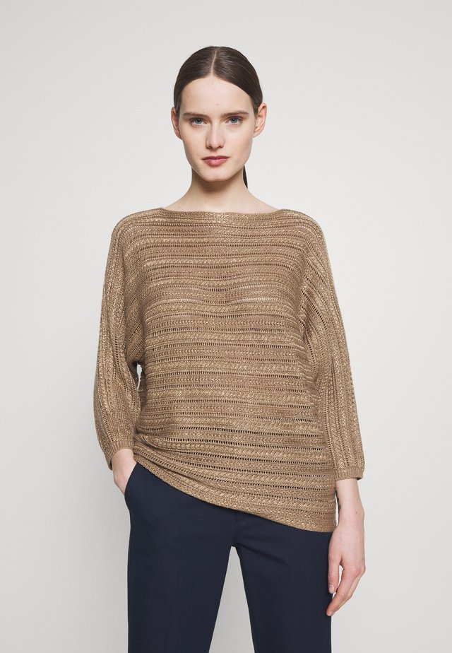 BRIGHT - Sweter - gold