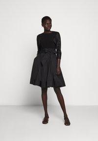 Lauren Ralph Lauren - TULIP BOLERO - Vest - black - 1