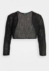 Lauren Ralph Lauren - TULIP BOLERO - Vest - black - 6