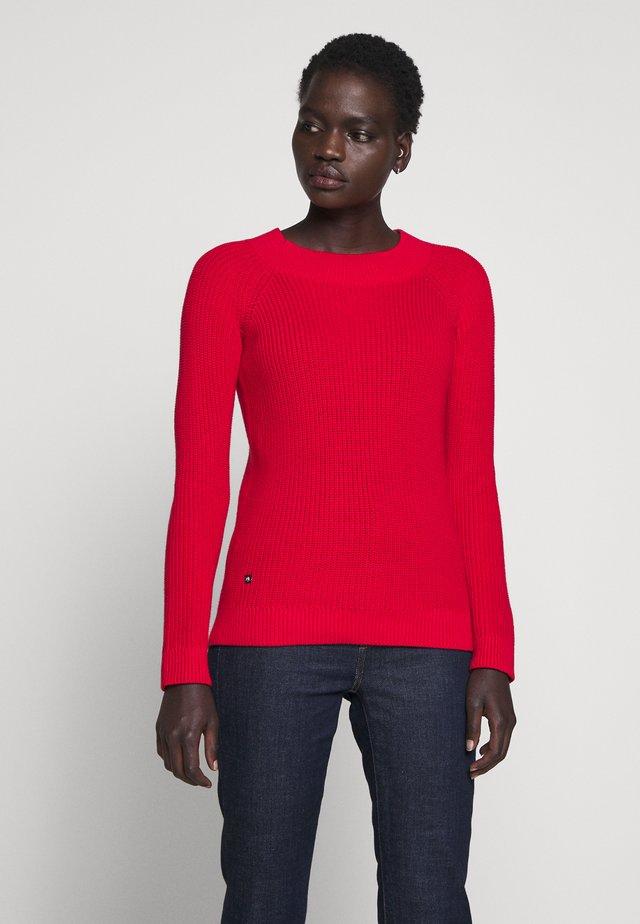 GASSED BRAC BALLET NECK - Jersey de punto - orient red
