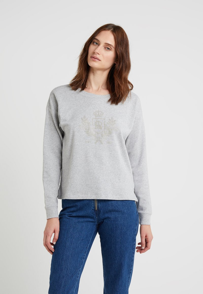 Lauren Ralph Lauren - KIRSTIN - Sweatshirts - pearl grey heather