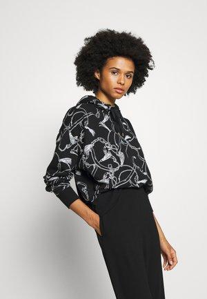 COZETTE TERRY - Bluza z kapturem - black