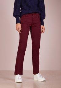 Lauren Ralph Lauren - SATEEN PANT - Trousers - rioja - 0