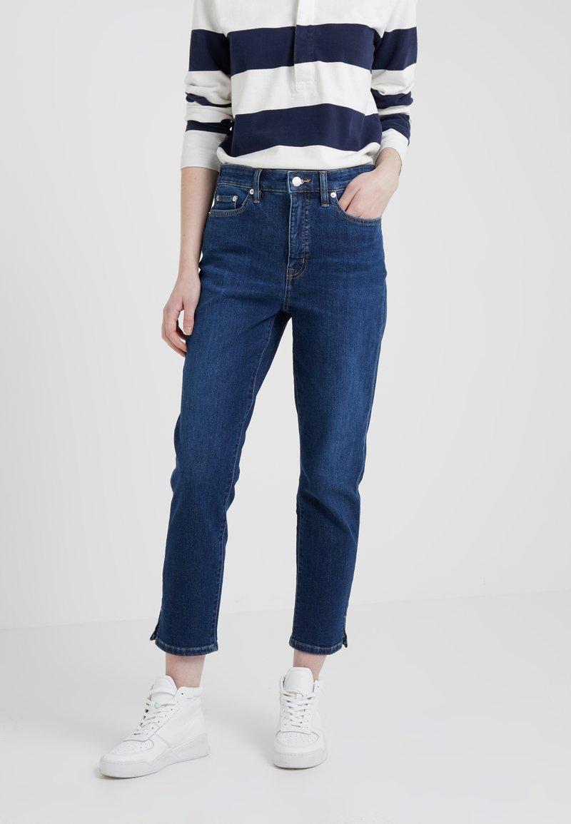 Lauren Ralph Lauren - SUPER AUTHENTIC SLIT - Jeans Straight Leg - cadet blue wash