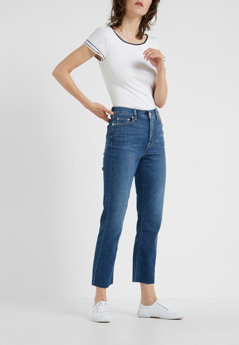 Lauren Ralph Lauren - SOFT STRETCH INDIGO RAW - Straight leg jeans - blue fields wash