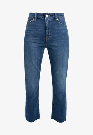 SOFT STRETCH INDIGO RAW - Jeans straight leg - blue fields wash
