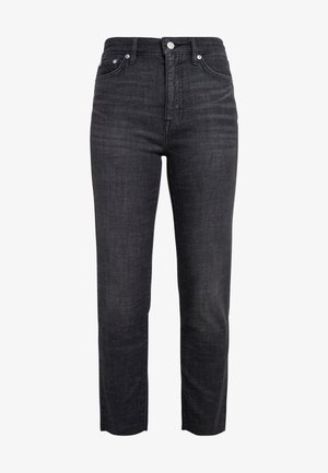 SOFT STRETCH - Straight leg jeans - faded noir wash