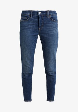 AUTH ANKLE - Jeans Skinny - dark abraded wash