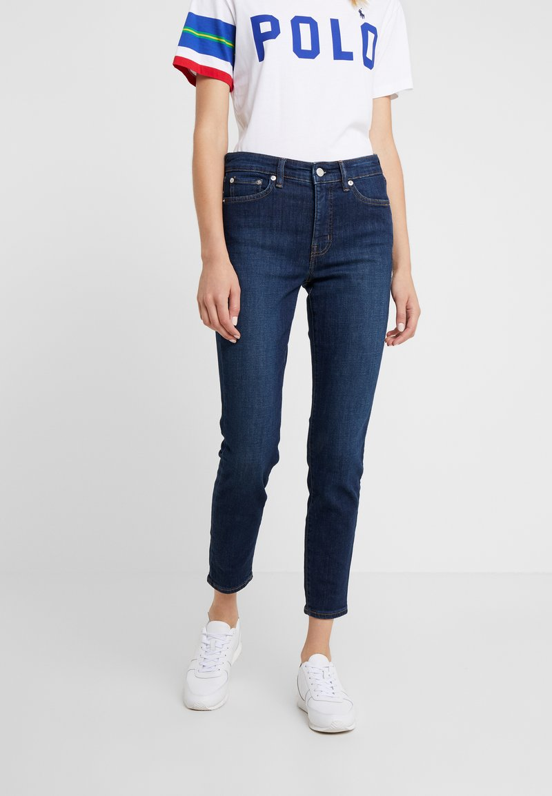 Lauren Ralph Lauren - Jeans Skinny Fit - dark worn wash