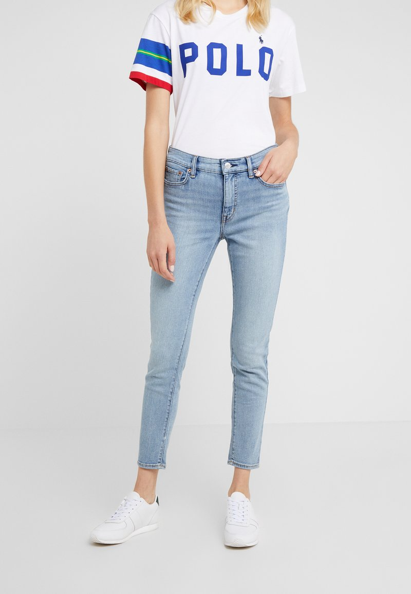 Lauren Ralph Lauren - Straight leg -farkut - light-blue denim
