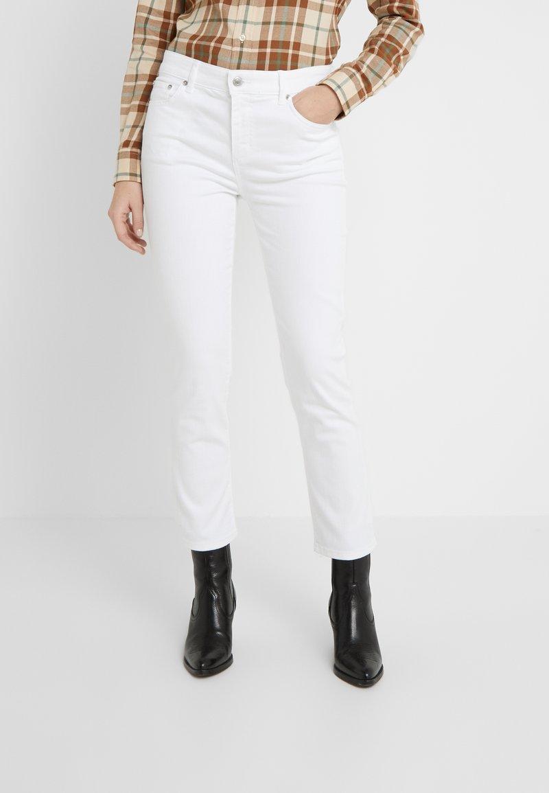 Lauren Ralph Lauren - ULTIMATE  - Straight leg jeans - perfect white