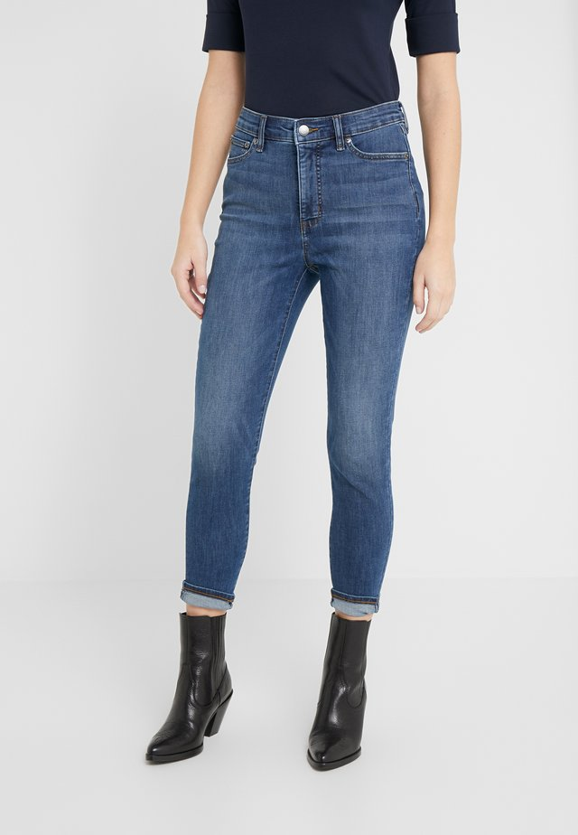 ULTIMATE ANKLE - Jeans Skinny Fit - harbor wash denim