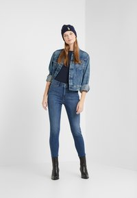 Lauren Ralph Lauren - ULTIMATE ANKLE - Jeans Skinny Fit - harbor wash denim - 1
