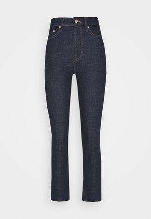 SOFT STRETCH STRAIGHT RAW - Jeans Slim Fit - rinse wash