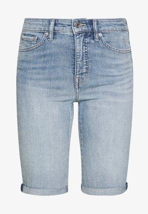 Shorts di jeans - light indigo wash