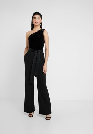 LUXE TECH COMBO - Overall / Jumpsuit - black