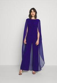Lauren Ralph Lauren - CLASSIC COMBO - Jumpsuit - cannes blue - 0